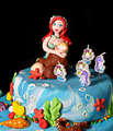 Mermaid Birthday Cake for Girls