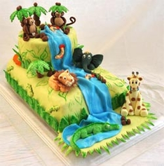 Jungle Cake for Kids