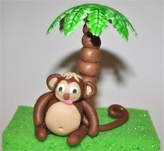 Jungle Cake Decorations