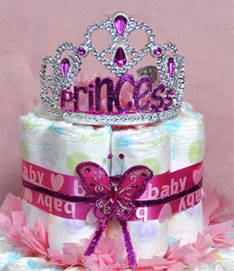 princess-baby-nappy-cake