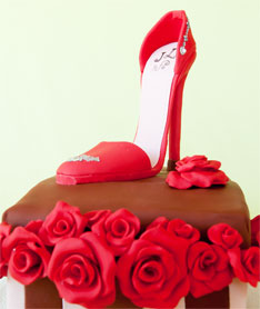 Shoe Box Birthday Cake