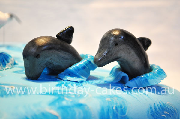 wedding cake dolphins