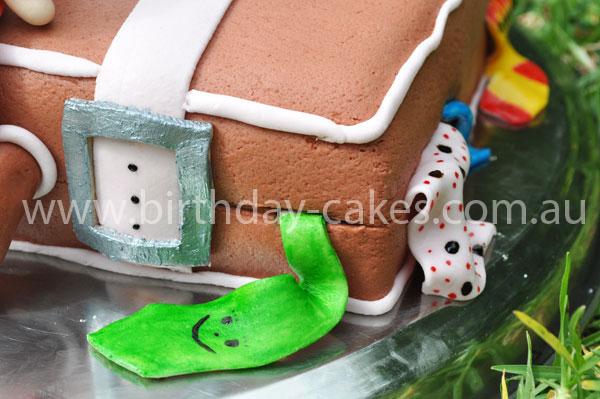 Suitcase Cakes Butter Cream