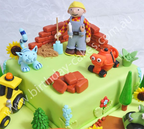 Tremendous Bob The Builder Cake Funny Birthday Cards Online Elaedamsfinfo
