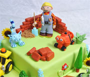 Novelty Bob the Builder cake