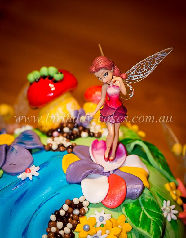 Fairy Figurines To Sit On Birthday Cake