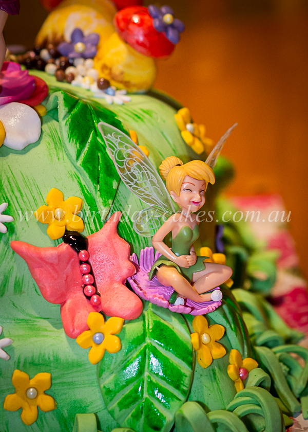 fairies birthday cake