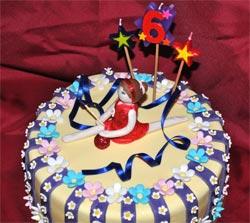 Cool Gymnastics Cake Personalised Birthday Cards Cominlily Jamesorg