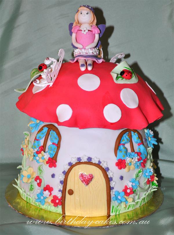 Magic Toadstool Cake Recipe