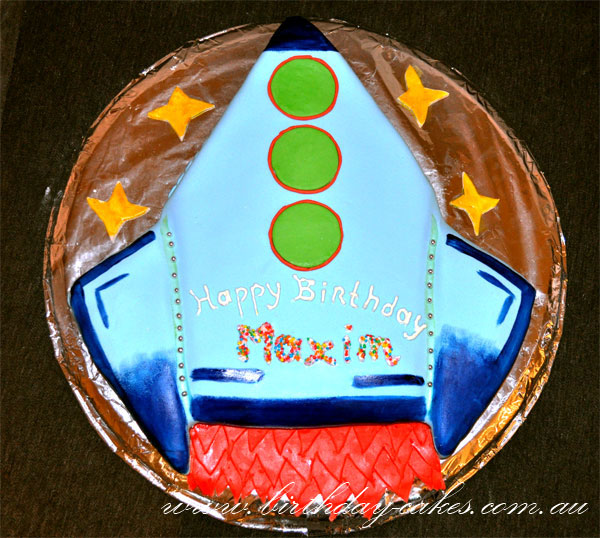 Astounding Rocket Ship Birthday Cake Funny Birthday Cards Online Alyptdamsfinfo