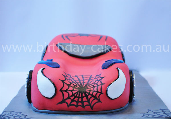 kids spiderman cake