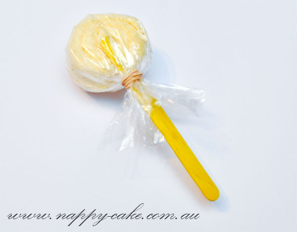 how to make baby shower lollipops